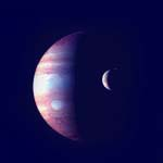 the gas giant Jupiter