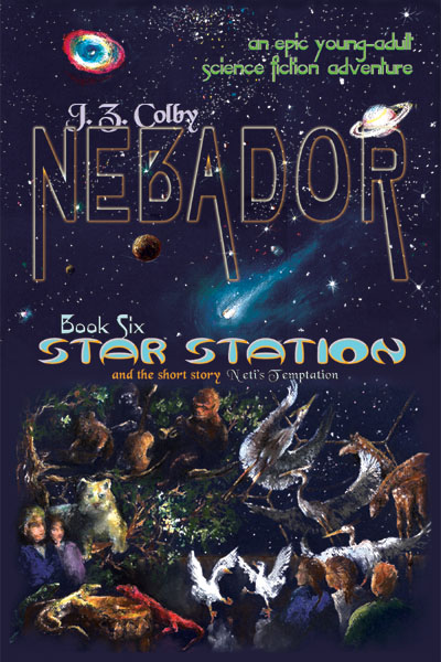 NEBADOR - an epic young-adult science fiction adventure